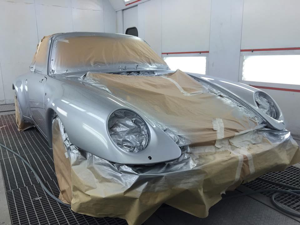 Porsche Respray